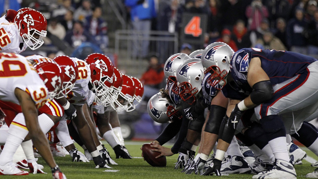 Patriots vs Chiefs NFL regular season